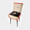 GPO Bermuda Vinyl Player red