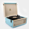 GPO Bermuda Vinyl Player Blue 2