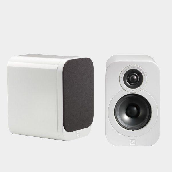 Q-Acoustics-3010-Bookshelf-Speakers-White-Gloss-Angled-600×600