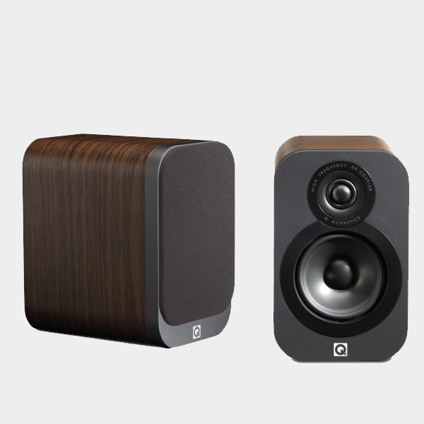 Q Acoustics 3010 Walnut 4