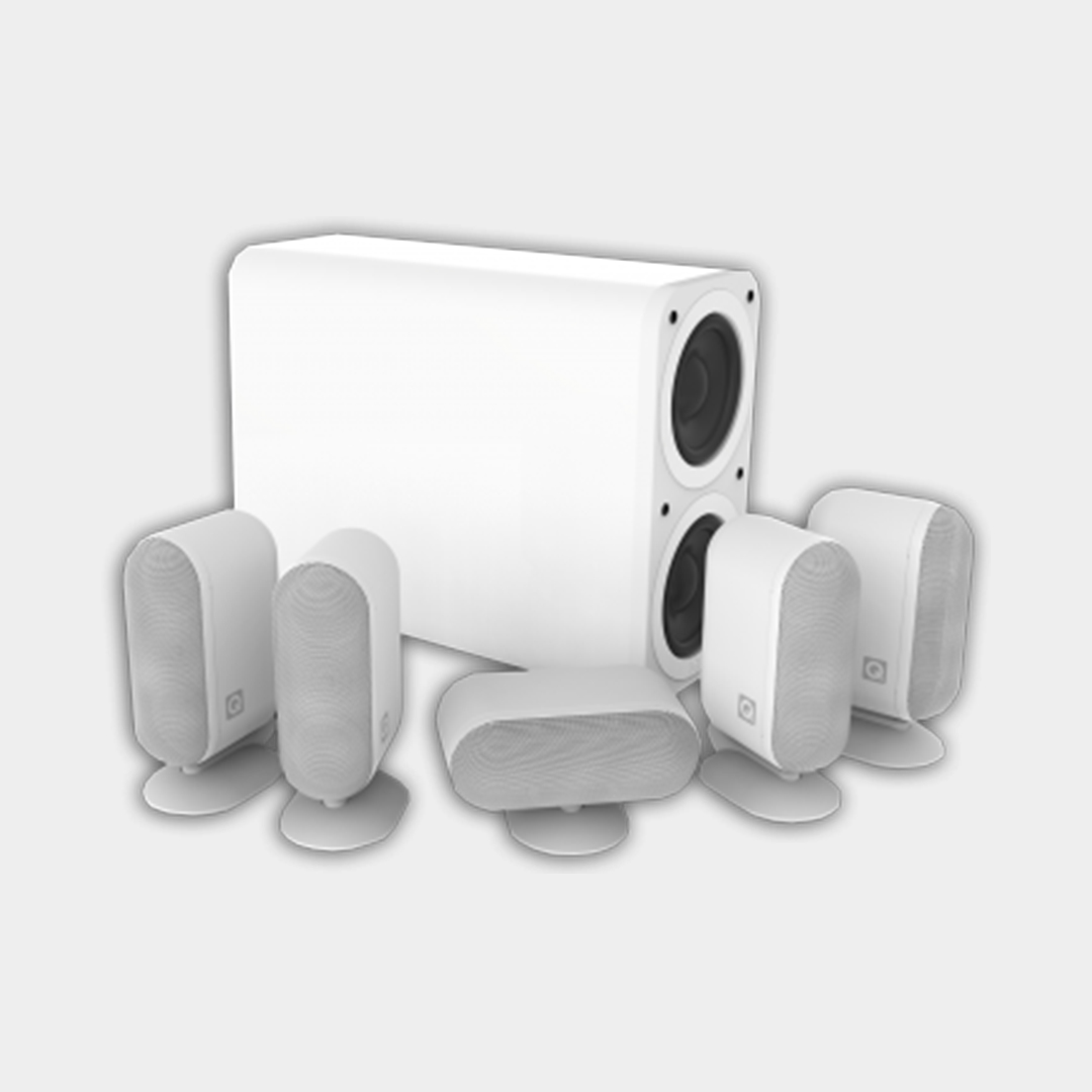 Q7000i 5.1 PLUS SPEAKERS WHITE
